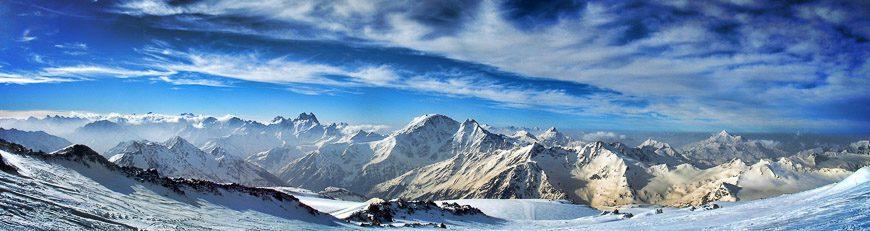 Mount Elbrus panorama