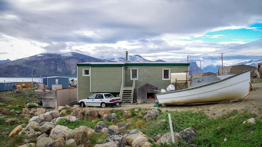Home in Pangnirtung, Nunavut