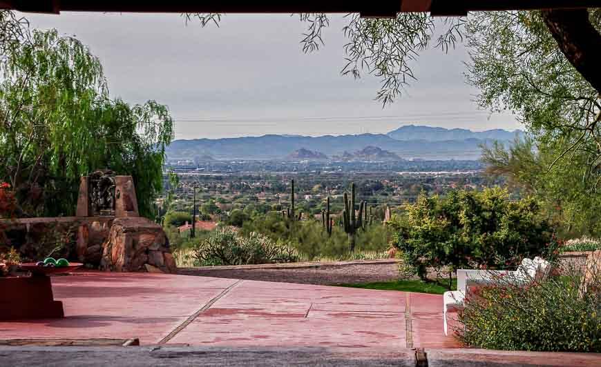 A Tour Of Taliesin West In Scottsdale, Arizona