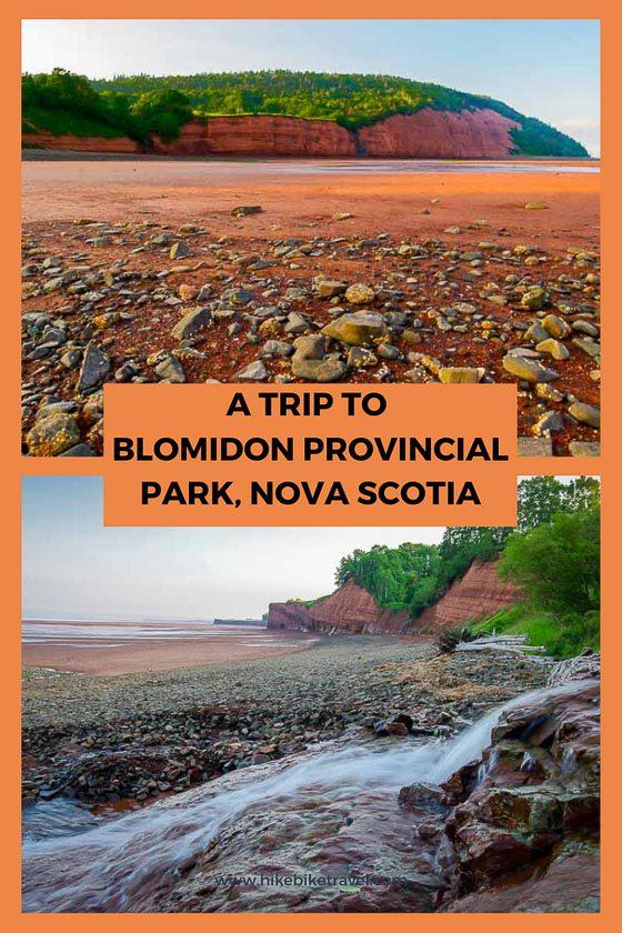 Blomidon Provincial Park, Nova Scotia