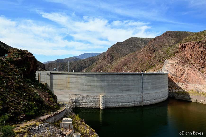 The Theodore Roosevelt Dam