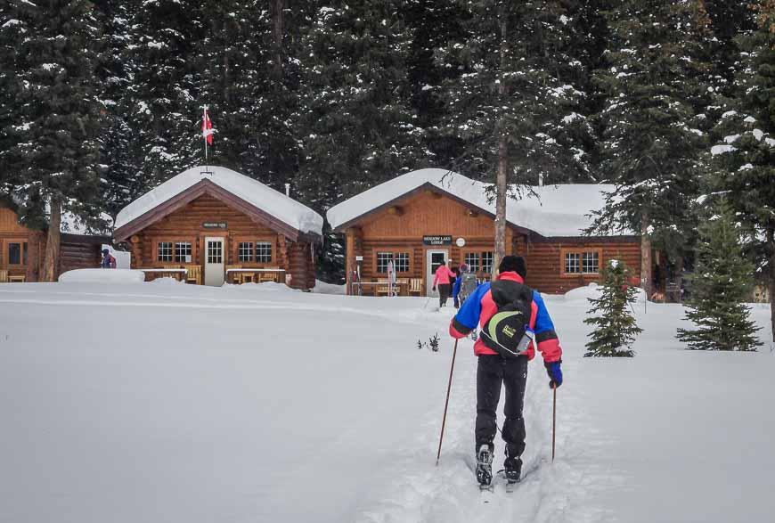 Almost at Shadow Lake Lodge
