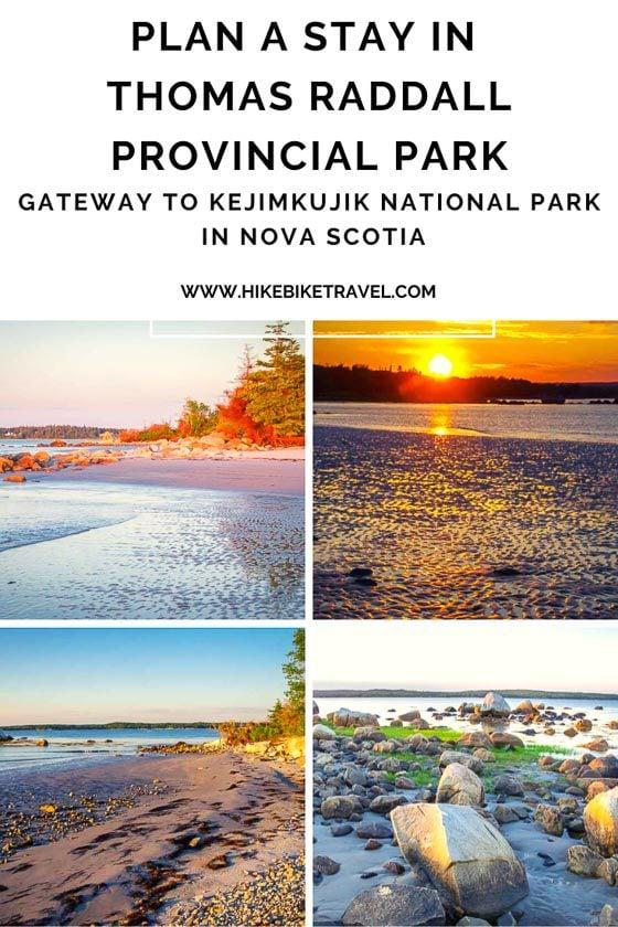 Thomas Raddall Provincial Park in Nova Scotia-gateway to Kejimkujik National Park