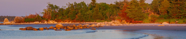Thomas Randall Provincial Park sunset