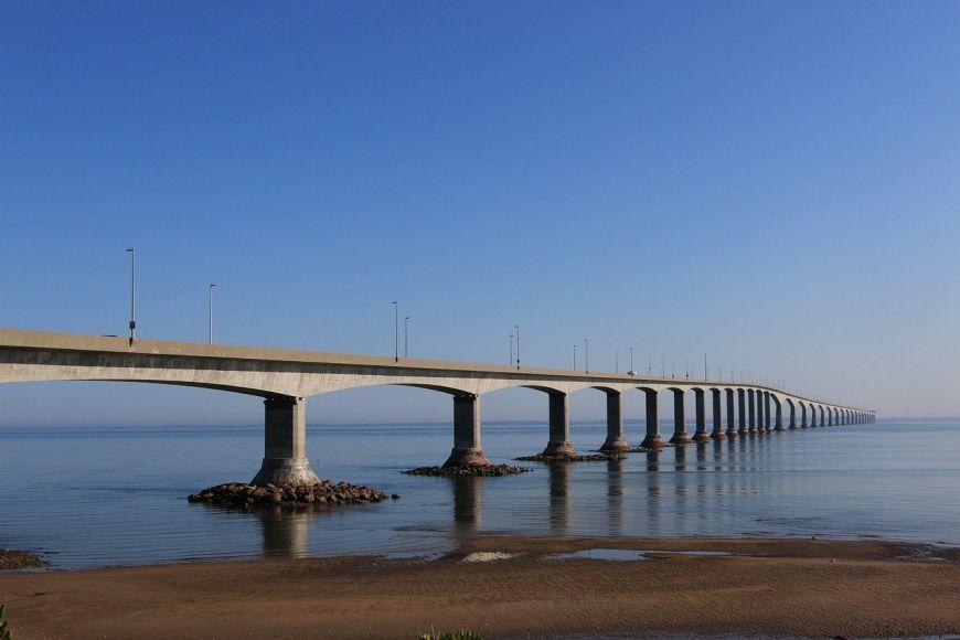 Confederation Bridge linking PEI and New Brunswick