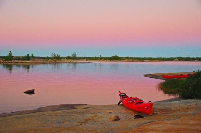 """Beautiful Georgian Bay sunset"""