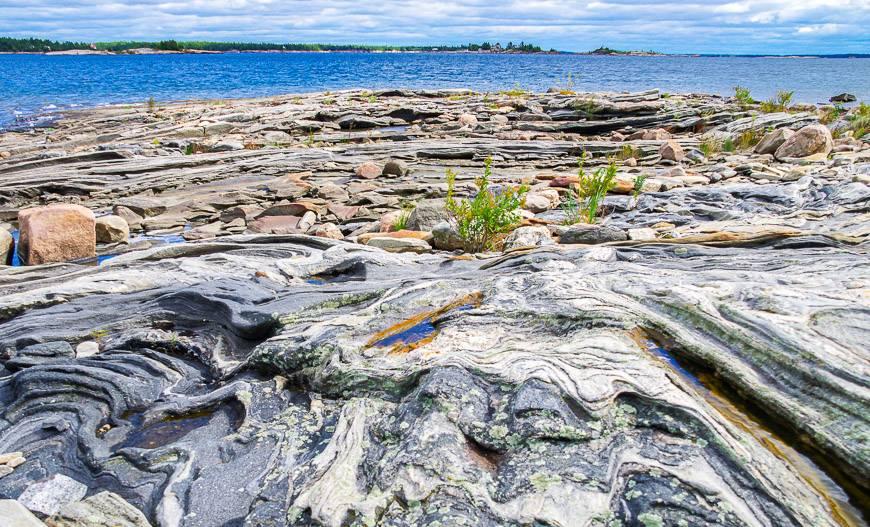 The wild rocks of Georgian Bay
