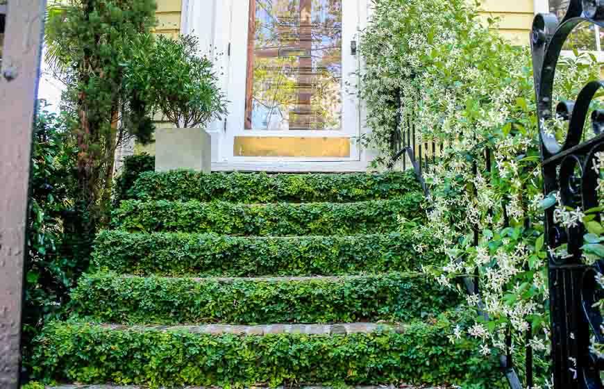 Stair detail in Charleston