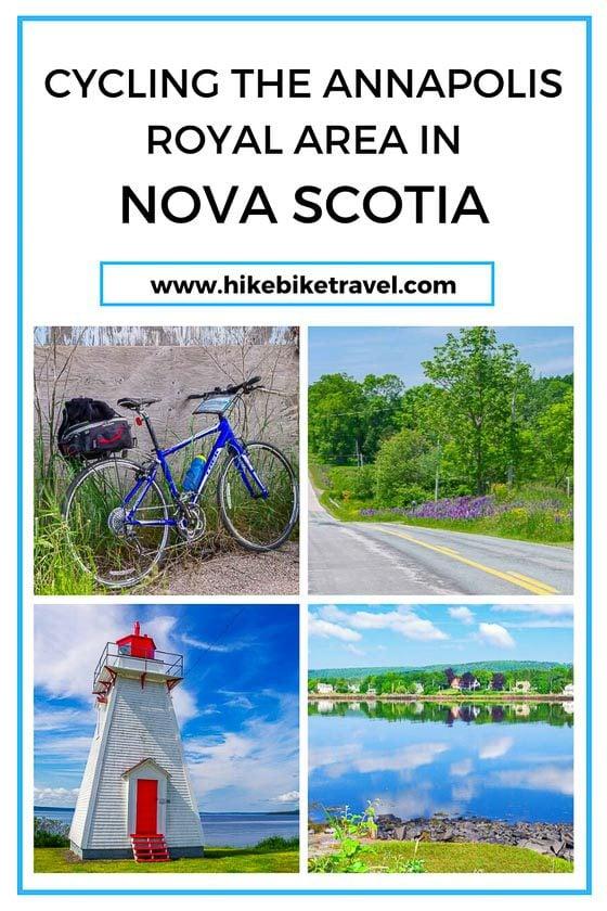 Cycling the Annapolis Royal area of Nova Scotia