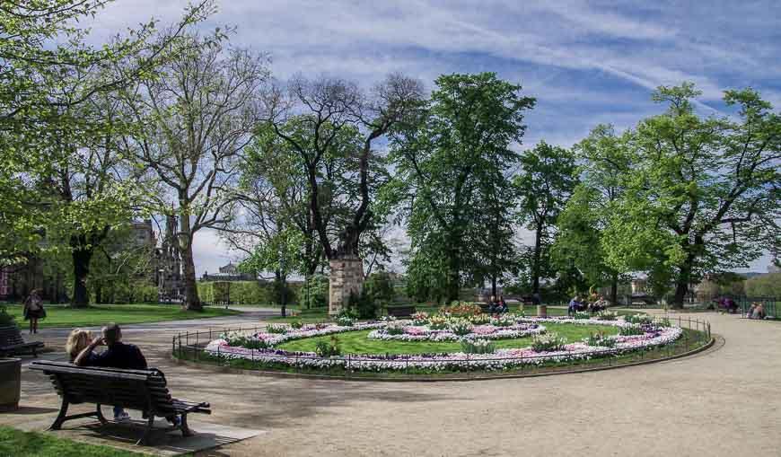 What to do in Dresden - enjoy the Brüshlsche Gardens