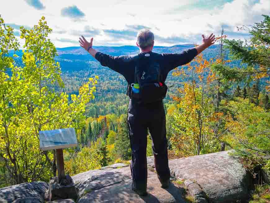 Nokomis Trail views