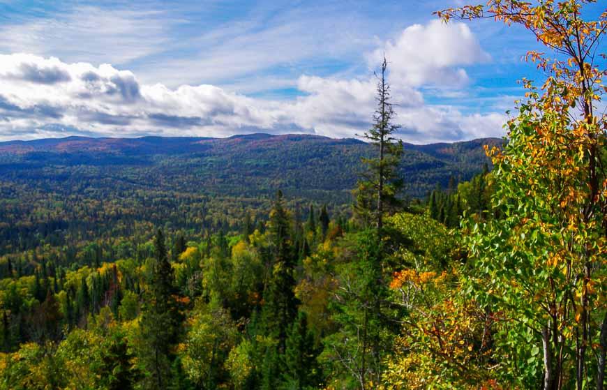 Big vistas within 25 minutes of hiking