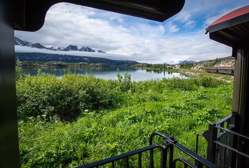 Beautiful Train Trip Through The Yukon