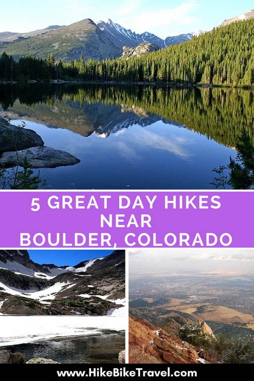 5 Great Day Hikes Near Boulder, Colorado