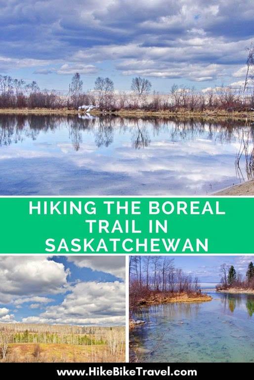 Hiking the Boreal Trail in Saskatchewan
