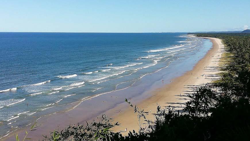 Itacare Beach in Brazil