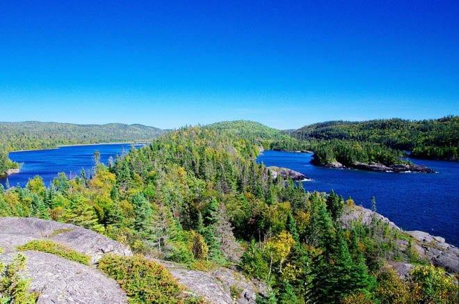 """Lake Superior in Puksawka National Park"""