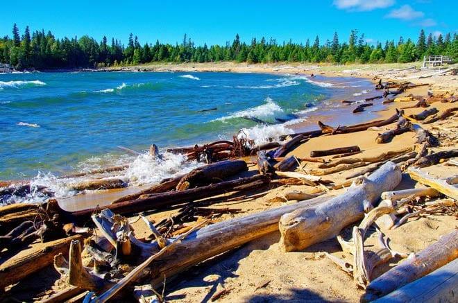 """""""Horseshoe Beach on Lake Superior"""""""