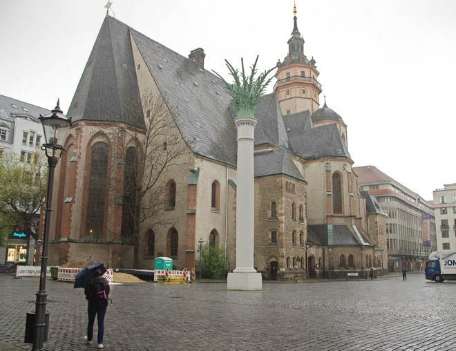 """""""St. Nicholas Church - where the Peaceful Revolution started"""""""