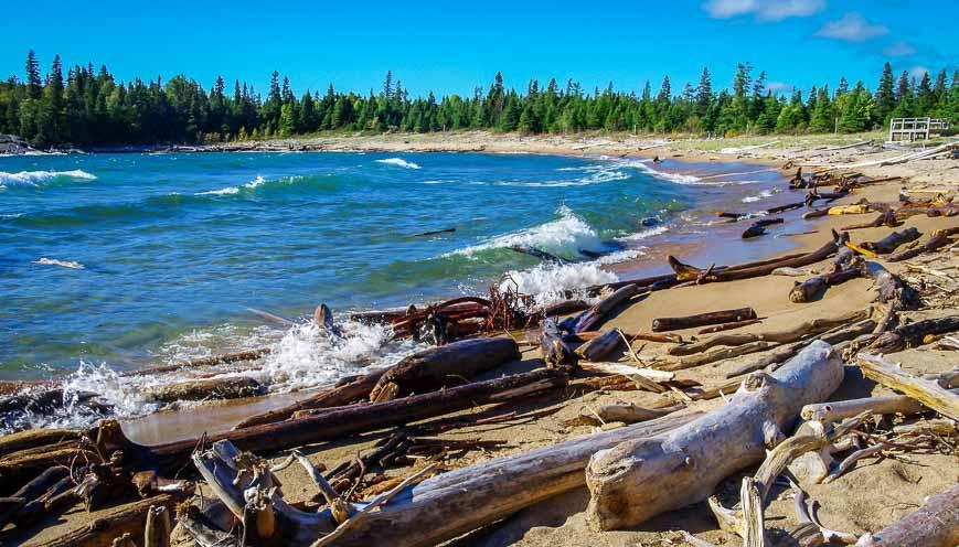 Horseshoe Beach on Lake Superior