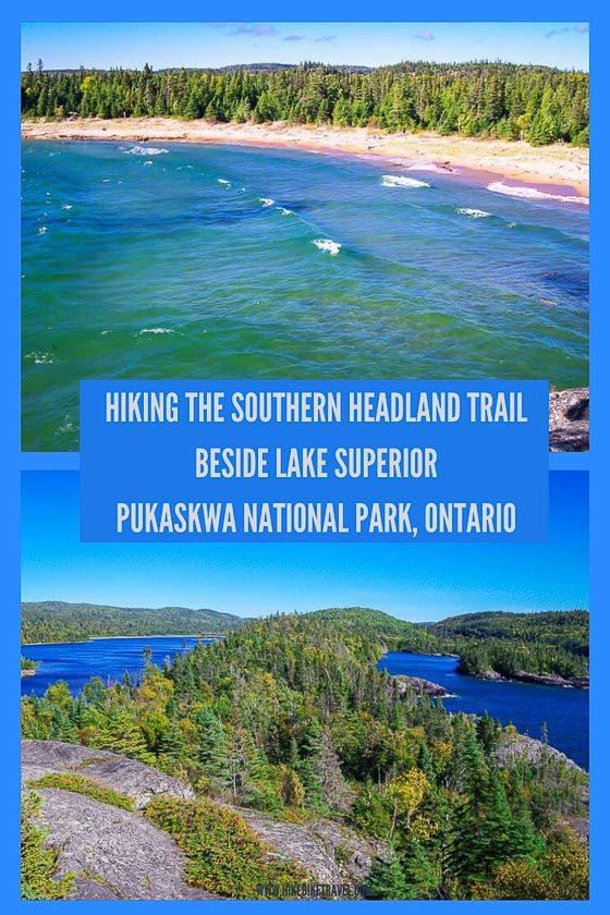 Southern Headland Trail, Pukaskwa National Park