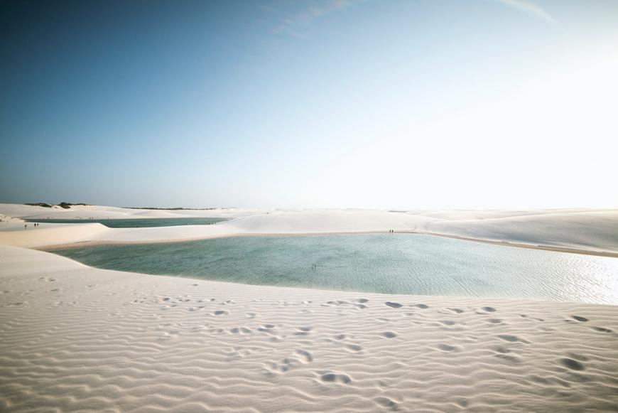 Dunes in Lencóis Maranhenses National Park