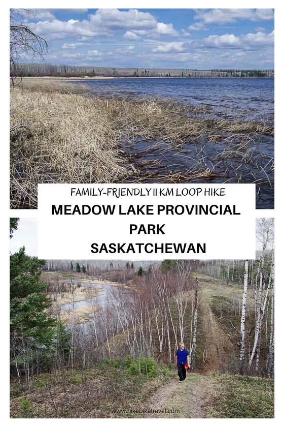 The Mustus Peitahigan loop hike, Meadow Lake Provincial Park, Saskatchewan