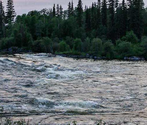 Churchill River canoe trip