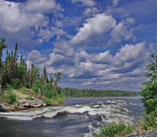 Canoeing the Churchill River