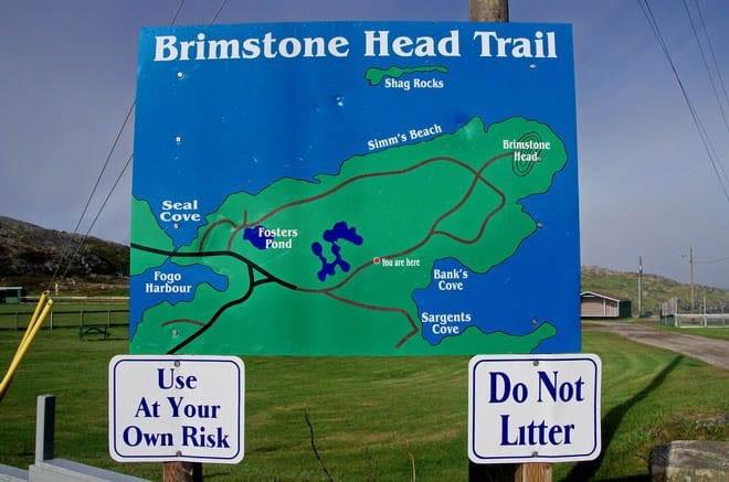 """Brimstone Head Trailhead - one of the 4 corners of the world"""