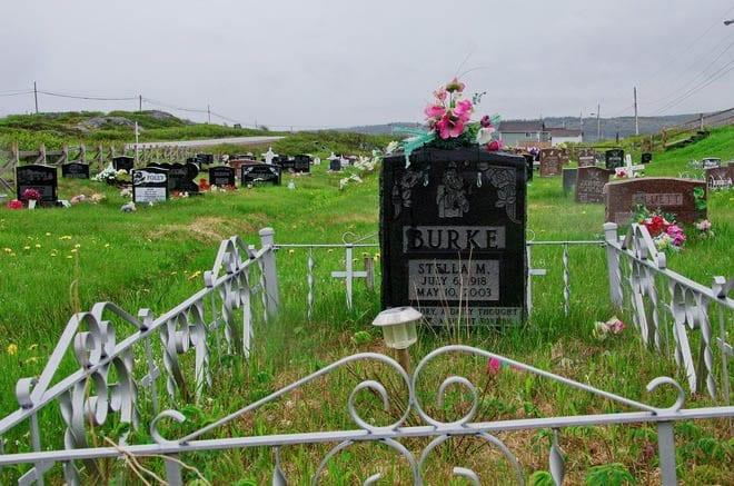 """The one cemetery I saw on Fogo Island"""