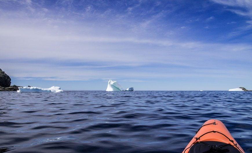 Iceberg Alley is straight ahead
