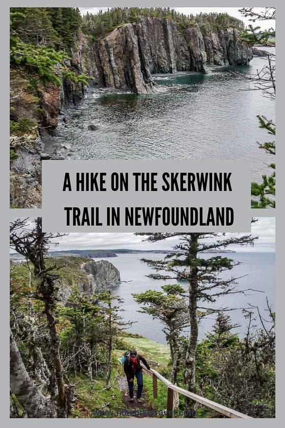 A hike on the Skerwink Trail near Trinity, Newfoundland