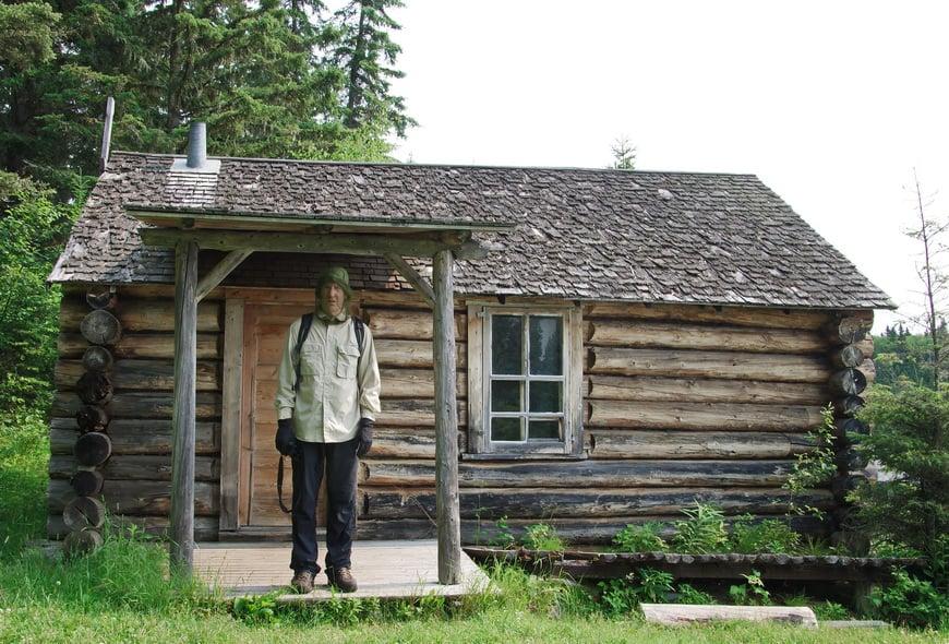 Grey Owls Cabin on Ajawaan Lake built in 1931