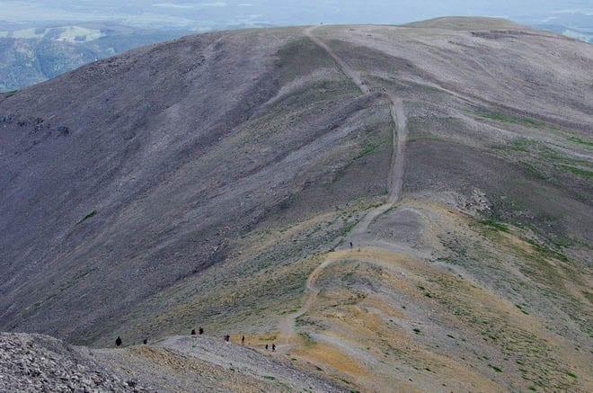 """Hiking Moose Mountain - Kananaskis Country"""
