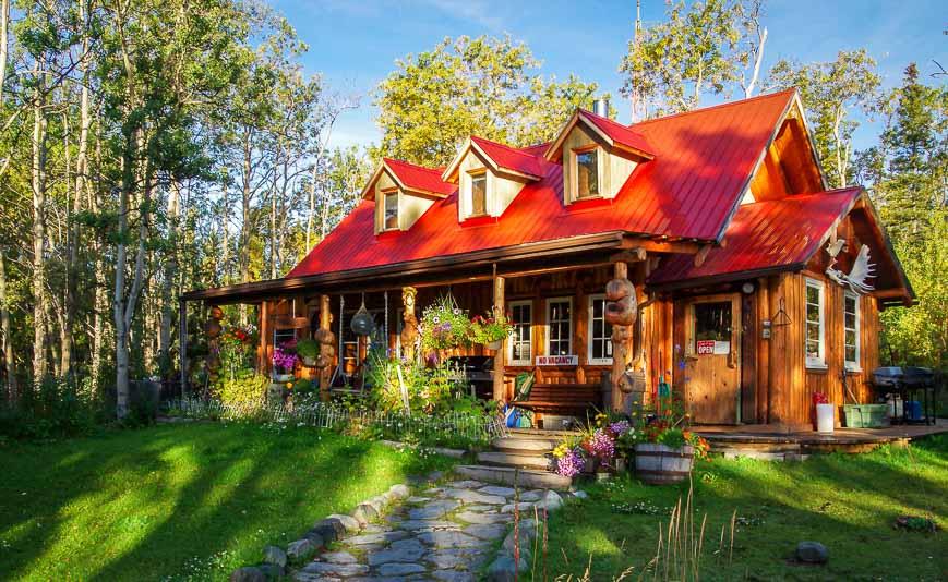 The Cabin - near Kathleen Lake
