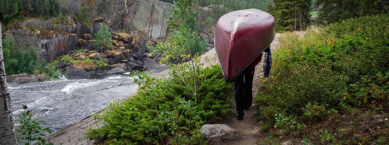 Cameron River Ramparts canoe trip