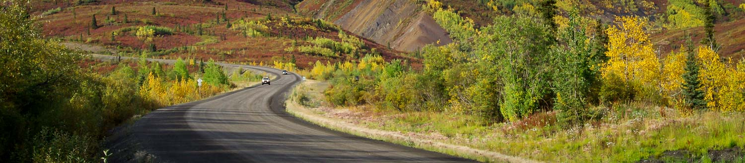 Driving the Dempster Highway to Tombstone Park, Yukon Territory