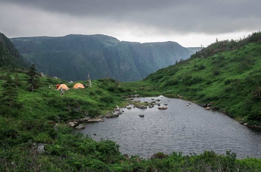 Ferry Gulch Campsite