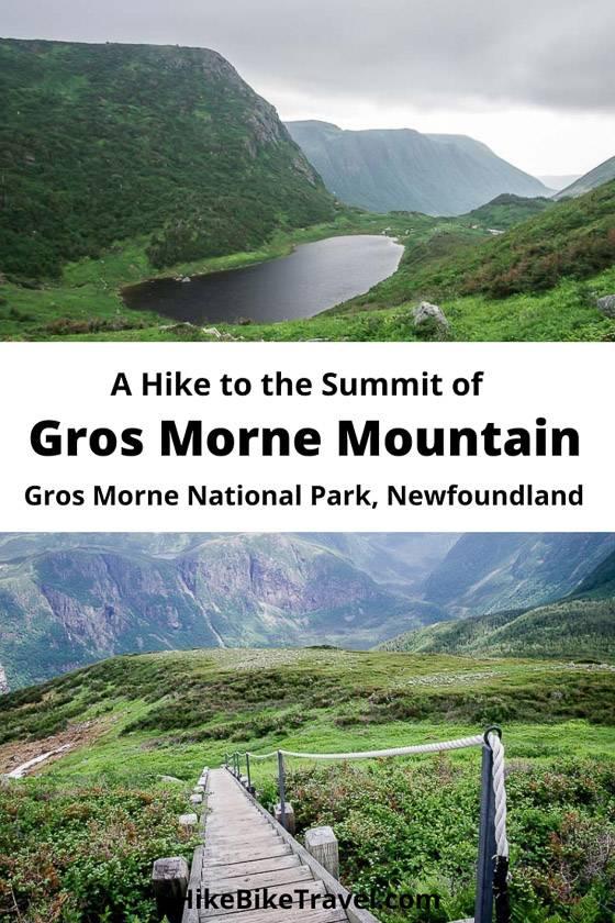 A hike up Gros Morne Mountain, Gros Morne National Park in Newfoundland