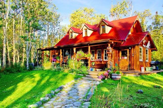 """""""The Cabin - near Kathleen Lake"""""""