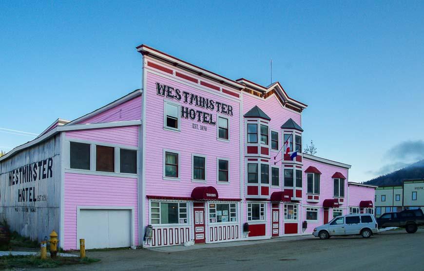 The Westminster Hotel - established in 1898