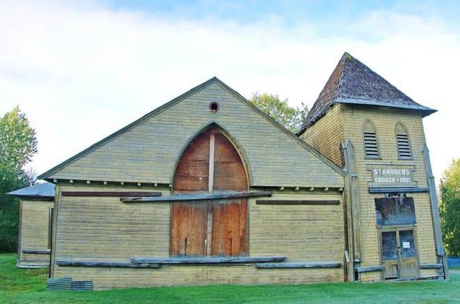 St. Andrews Church in Dawson City - Circa 1901