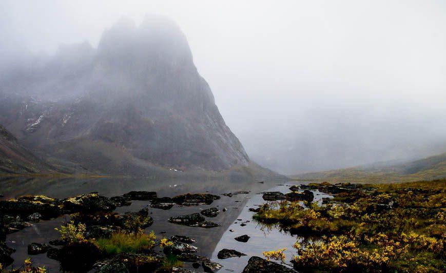Mount Monolith, Tombstone Mountains