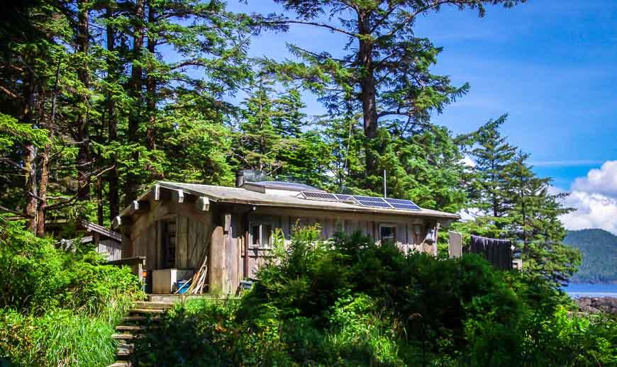 The Watchmen's Cabin on Ninstints
