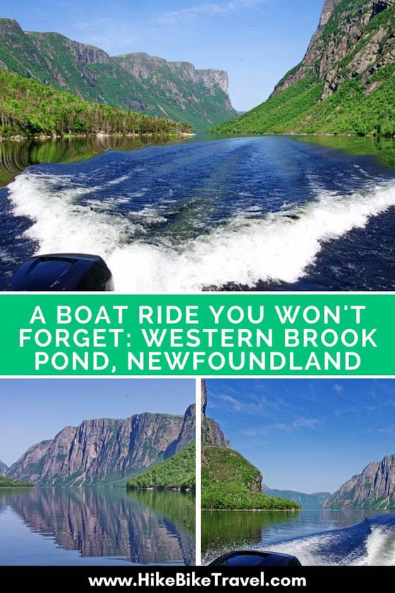 A Boat Ride you Won't Forget: Western Brook Pond, Newfoundland