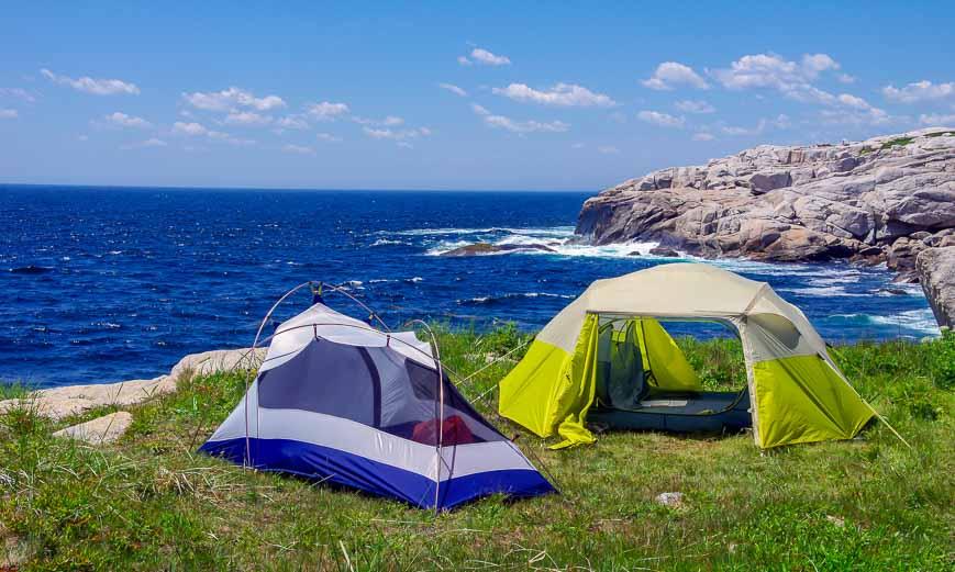 Dover Island near Peggy's Cove in Nova Scotia