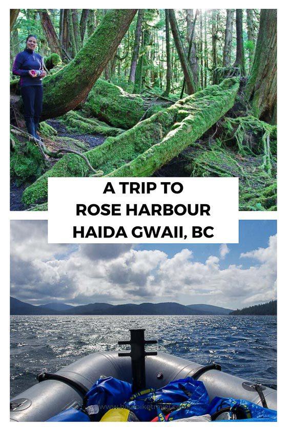 A trip to Rose Harbour in Haida Gwaii, BC