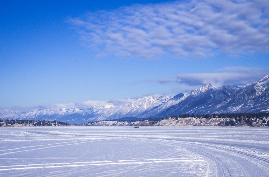 A stunning winter playground