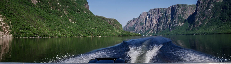 Western Brook Pond boat ride